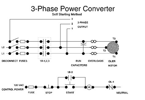 Single Phase Three Converter Circuit Diagram