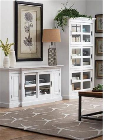 White Bookcases With Glass Doors by Home Decorators Collection 3 Shelf Bookcase With