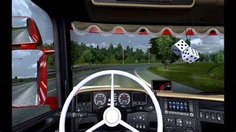 euro truck simulator  scania   youtube