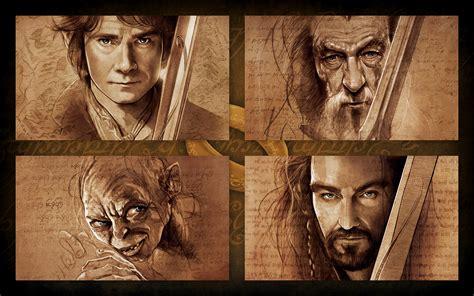 hobbit characters artwork wallpapers  hobbit
