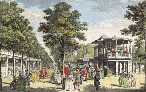 vauxhall gardens london vauxhall gardens patriotism and pleasure history today