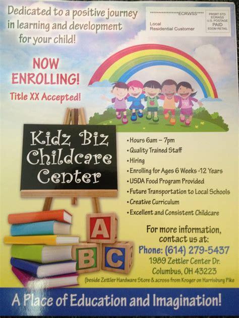 kidz biz childcare center home facebook