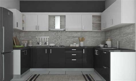 modular kitchen designs black and white modular kitchen range of modular kitchen designs from 9774