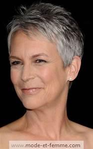 Coupe Courte Femme Cheveux Gris : cheveux gris jamie lee curtis mode et femme ~ Melissatoandfro.com Idées de Décoration