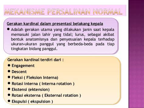 Janin Posisi Melintang Refrat Persalinan Normal 2 08 2013 Rsud Serang