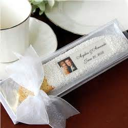 wedding favors personalized personalized photo biscotti