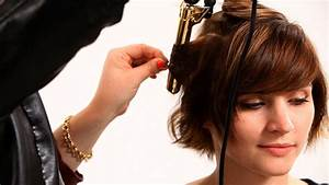 Curling Wand On Short Hair Hairstyle For Women Man