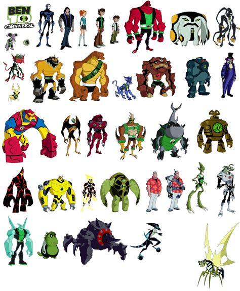 Imagen Personajes De Ben 10 Omniverse Ben 10 Omniverse