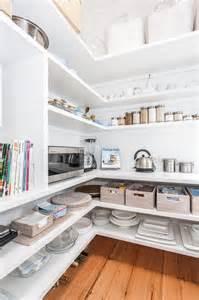 kitchen walk in pantry ideas pantry with wraparound shelves cottage kitchen coastal style
