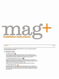 Magplus Installation Instructions