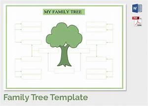 family tree template 37 free printable word excel pdf With draw a family tree template