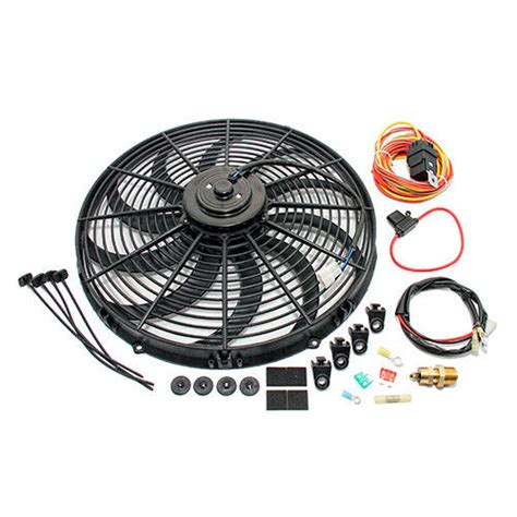 High Cfm Electric Curved Blade Radiator Cooling Fan