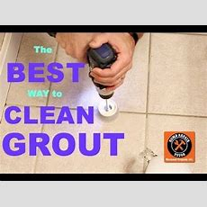 Best Way To Clean Grout (ever!!!)  By Home Repair Tutor