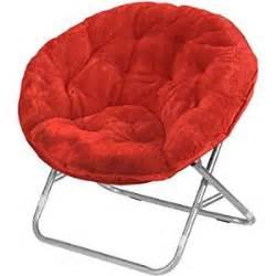 amazon com mainstays faux fur saucer chair multiple