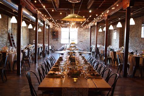 haight rustic wedding venue  chicago il