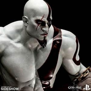 God of War Kratos Statue by EFX
