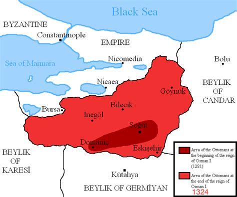 ottoman empire osman file osman i area map png wikimedia commons