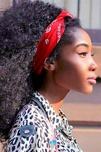 Six Different Hairstyles Using Your Bandana