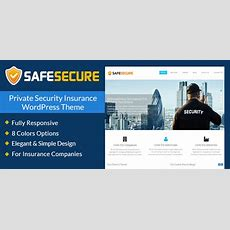 Private Security Insurance Wordpress Theme & Template