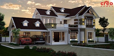 sq ft double floor contemporary home design