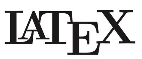 fonts     modify  latex logo