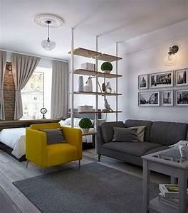53, Best, Minimalist, Studio, Apartment, Small, Spaces, Decor, Ideas, 23
