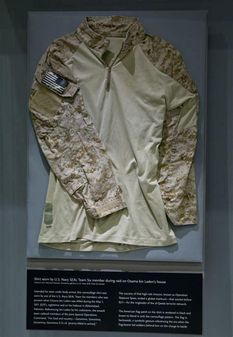 memorial museum shows artifacts  bin laden