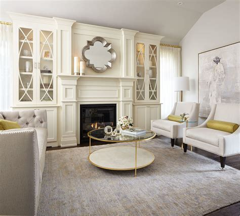 Living Room Modern Ideas by Modern Neutral Living Room With Gold Accents