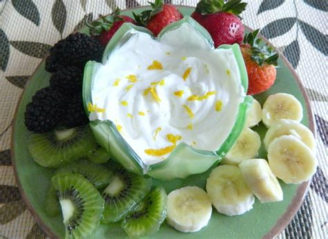light fruit desserts light and fruit dip thebestdessertrecipes