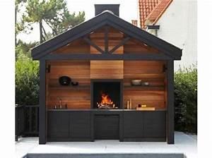 cuisine exterieure 15 modeles pratiques et esthetiques With materiaux exterieur de maison 15 magnifique extension bois avec piscine interieure