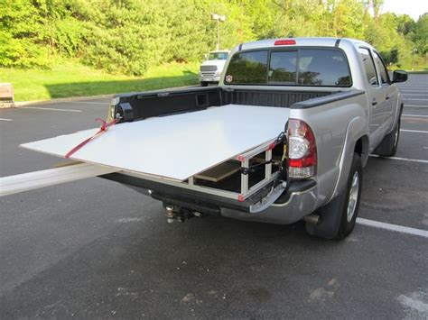 bed extender custom check out my nice rack tacoma world