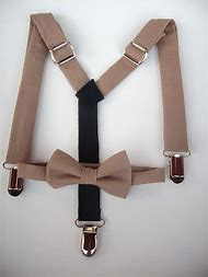 Toddler Boy Suspenders and Bow Tie