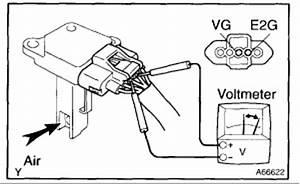 testing mass air flow sensor With air flow detector
