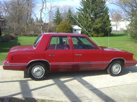 xxn1927 1982 Dodge Aries Specs, Photos, Modification Info ...