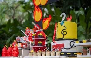 Spiele Für Feiern : feuerwehr geburtstag feiern ideen f r deko spiele und co geburtstag pinterest ~ Frokenaadalensverden.com Haus und Dekorationen