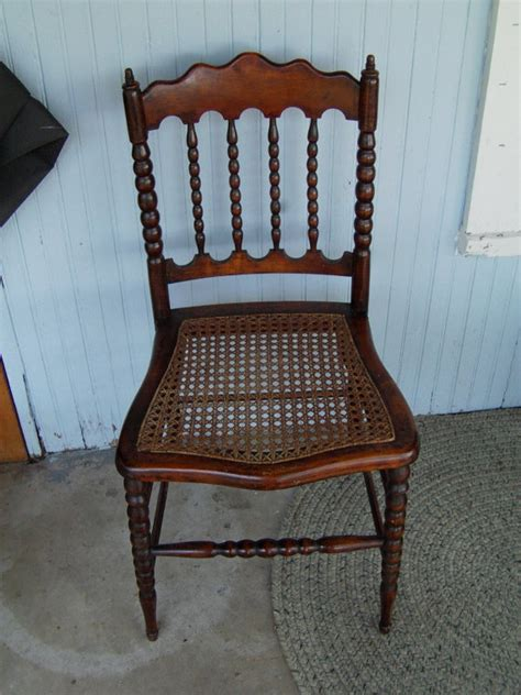 Antique Rocking Chair With Cane Seat Woodworking