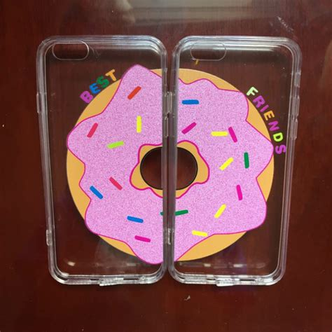 matching iphone cases best friends donut matching cases iphone pair my