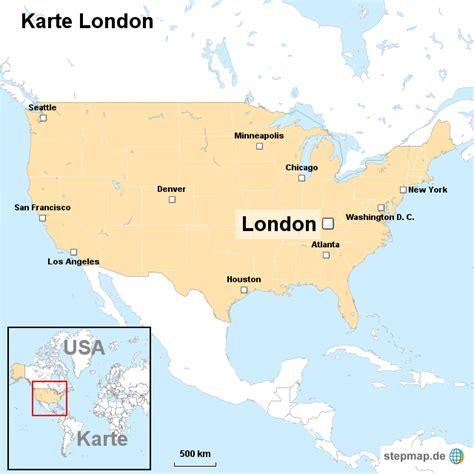 Karte in voller größe drucken. Karte London von ortslagekarte-usa - Landkarte für die USA