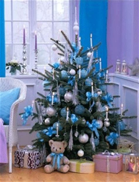 blue and silver christmas decoration ideas sky blue christmas colors for holiday decorating