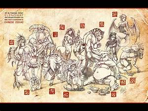 Chinese Zodiac Wallpaper - WallpaperSafari