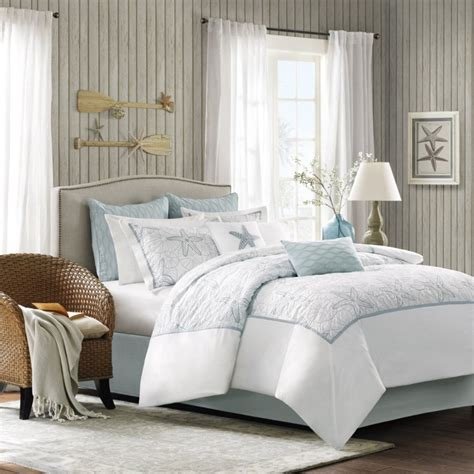 Coastal Coverlet by Create Comfortable Bedroom With Coastal Bedding In A Bag