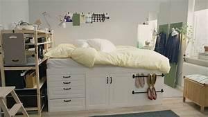 IKEA Quadratmeterchallenge: Winziges Schlafzimmer für zwei YouTube