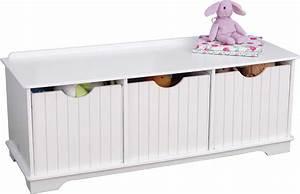 Rangement Chambre Enfants : banc de rangement enfant nantucket ~ Melissatoandfro.com Idées de Décoration