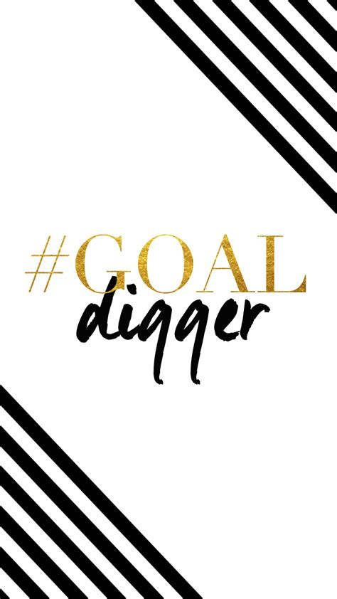 Gold Lock Screen Wallpaper For Phone by Black White Gold Stripes Goal Digger Iphone Phone