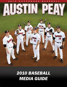 2010 Austin Peay Baseball Media Guide by APSU Sports ...