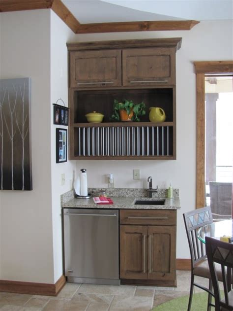 open kitchen cabinets coffee bar lower cabinet setup with tiger wood office 1203