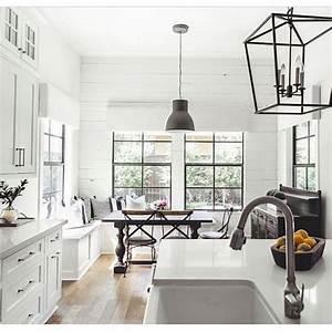 best 25 white farmhouse kitchens ideas on pinterest With kitchen colors with white cabinets with gmc window sticker