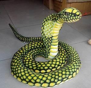 110in.Stuffed Animals Emulational Anaconda Green Snake ...