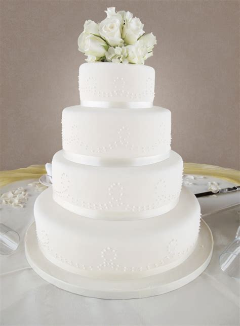 4 tier wedding cake wedding cakes the cakery leamington spa 1112