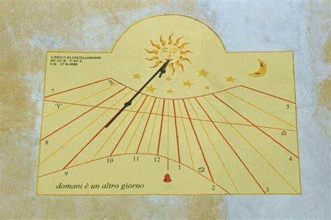 orologio solare  castellamonte